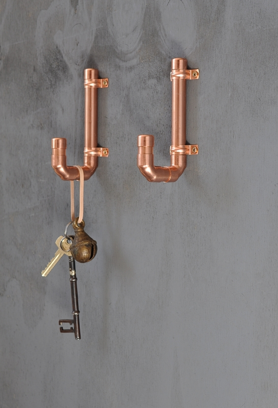 Copper Coat Hook