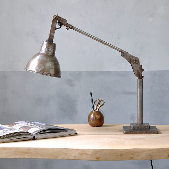 Industrial Angle Poise Desk Lamp