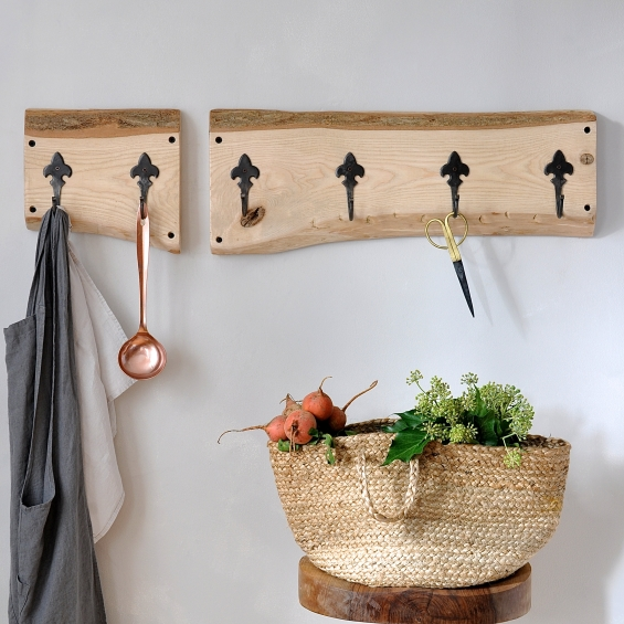 Country Cottage Two Piece Coat Hook