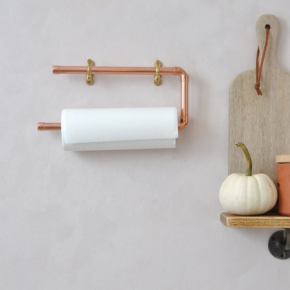 Copper Kitchen Towel Rail