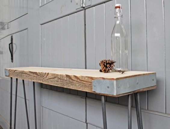 Manhattan Industrial Console Table