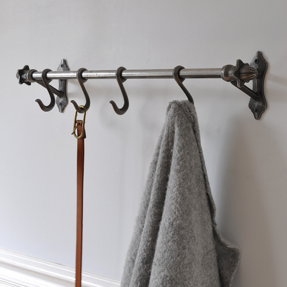 Victorian Four Hook Storage Rail