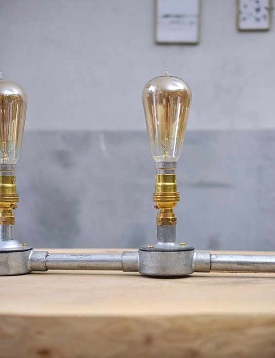 original greenwich village industrial table lamp