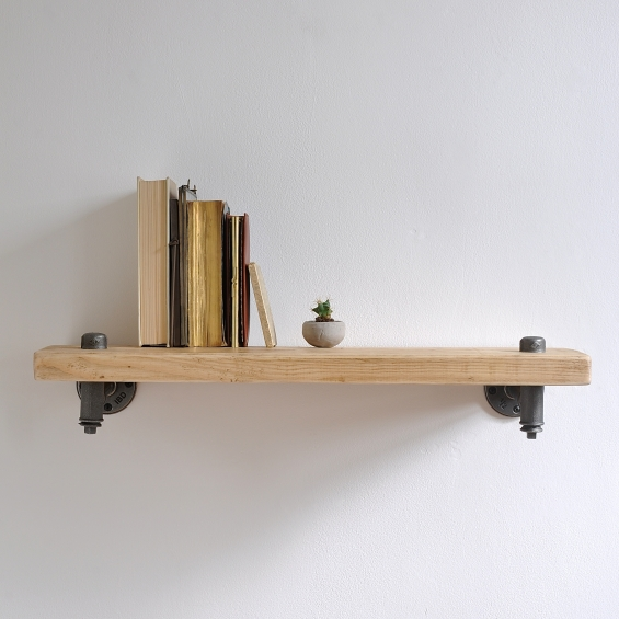 Railroad Industrial Pipe Shelf