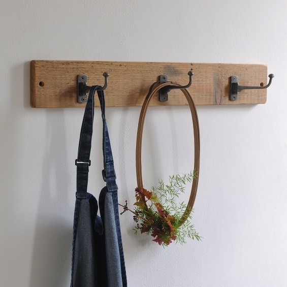 Reclaimed Swivel Coat Hook