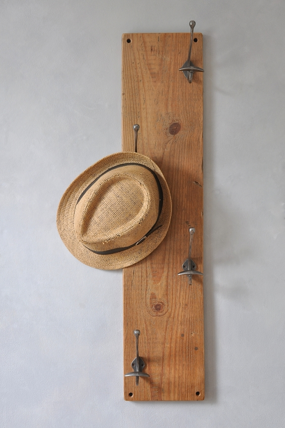 Reclaimed Vertical Coat Hook