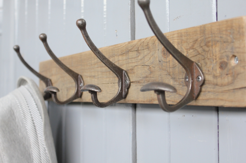 Limited Edition Reclaimed Bowler Hat And Coat Hook M 246 A