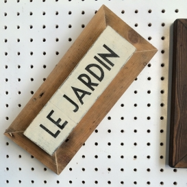 'Le jardin' is at the heart of our family