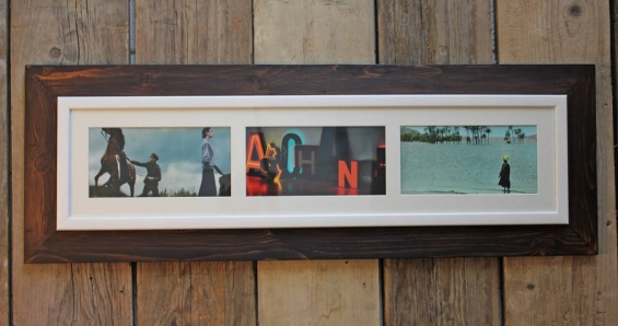 Reclaimed Wooden Landscape Aperture Photo Frame 3